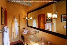 classic and coloured design bathroom in italy - Bathroom In Italian