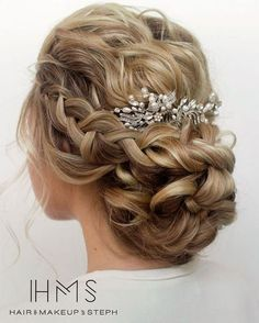 HMS Long Wedding Hairstyles 5 | Deer Pearl Flowers