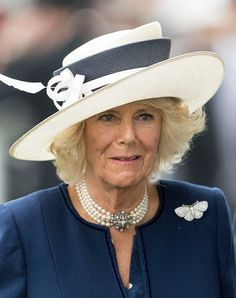 The Duchess of Cornwall attend the fifth day of Royal Ascot, 18.06.2016