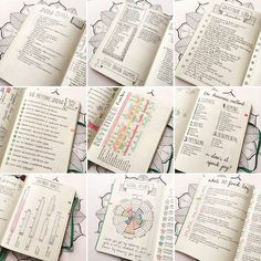 Some of my favorite collections - Bullet Journal (check out brain dump pg & konmari method)