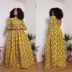 Sunshine Dress has been Restock Available Sizes S-4XL www.grass-fields.com Best African Dresses, African Fashion Ankara, Latest African Fashion Dresses, African Print Fashion, African Attire, African Wear, African Women, Beautiful Ankara Gowns, Traditional African Clothing