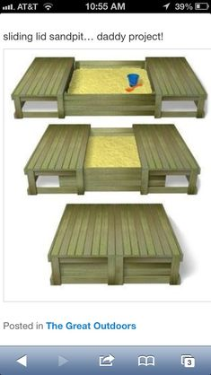 garden playground Try to do it from pallets ., garden playground Try to do it from pallets . - garden playground Try to do it from pallets… Sandbox p -. Outdoor Projects, Pallet Projects, Home Projects, Pallet Ideas, Outdoor Fun, Outdoor Decor, Outdoor Toys, Outdoor Furniture, Pallet Furniture