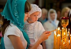 Orthodox Way of Life: Photo Church Candles, Mantilla Veil, Orthodox Wedding, Russian Orthodox, Mother And Child, Way Of Life, Our Lady, Flower Girl Dresses, Wedding Photography
