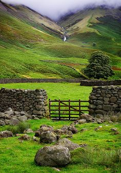 Wasdale Head, England, GB.  Lovely place..I wonder what's just over that ridge...