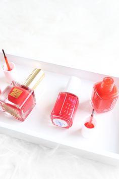 Tomato Red Nail Polishes, Bold Bright Red Nail Polish