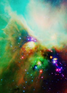 The universe makes the best abstract paintings! --Pia (Gotta love a bit of nebula like)