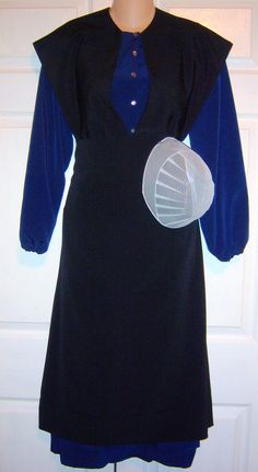 Authentic Amish Dress Cape Apron & Prayer by MennoniteAmishDress, $59.99