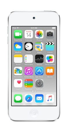 Apple iPod touch 32GB White & Silver (6th Generation)