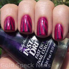 Gold Speck Nails: BM 301
