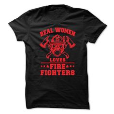View images & photos of Real Women Loves Fire Fighters t-shirts & hoodies