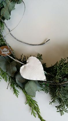 Love Christmas ornaments like this vintage garland. Adorno de navidad de inspiración nórdica. My scandinavian xmas.