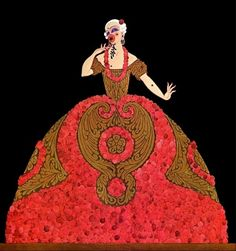 Ganna Walska took no chances in her bid for international operatic stardom. In 1920 she made contact with Erté (Romain de Tirtoff), whose images defined the aesthetic of the ensuing decade like few others. While the costumes he designed for her were quite something (go to the LACMA ...