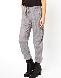 Image 4 ofASOS Knitted Joggers In Cable