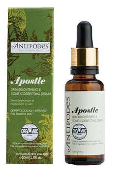 22 Global Beauty Brands You Need Now #refinery29  http://www.refinery29.com/international-beauty-brands#slide10  Antipodes Apostle Skin-Brightening & Tone-Correcting Serum, £41.99, available at Feel Unique.