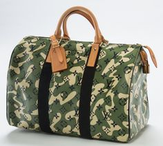 ae51c6a3f4ad Louis Vuitton Limited Edition Green Monogramouflage Canvas Speedy 35 Bag,  2008 - Available at 2017 June 11 The Future is Now:.