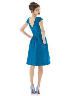 Alfred Sung Bridesmaid Dress D570 http://www.dessy.com/dresses/bridesmaid/d570/?color=apricot&colorid=630#.VaV1fLVN61s