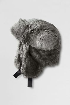 0496cdbd046 Girls  Faux Fur Trapper Hat from Lands  End