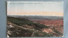 Cripple Creek Colorado Cripple Creek Short Line Railroad Real Photo Chromolitho