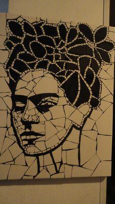 cuadro mosaiquismo Frida Khalo