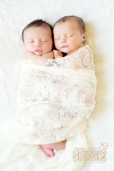 newborn twin girls #