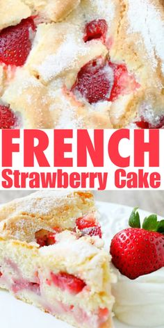 Strawberry Shortcake Discover French Strawberry Cake - Foodtastic Mom Accept no substitute! This is the original French Strawberry Cake. Food Cakes, Cupcake Cakes, Cupcakes, Strawberry Cake Recipes, Pound Cake Strawberry, French Strawberry Tart Recipe, Strawberry Yum Yum Recipe, Recipes With Frozen Strawberries, Strawberry Blueberry Pie