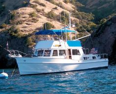 1999 Grand Banks 42 Classic for sale in Southern California #BoatsForSale #GrandBanks #Trawlers