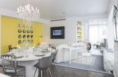 Color design trends: Grey is the new black!  Yoo Panama by Philippe Starck