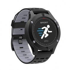 Bounabay GPS Smart Sports Watch Fitness Tracker with Activity Tracking Heart Rate Monitor Sleep Moniter Message Notification Waterproof Activity Tracker for Android and iOS Sport Watches, Cool Watches, Watches For Men, Gps Watches, Stylish Watches, Fitness Tracker, Fitness Watches For Women, Bluetooth Watch, Wearable Device
