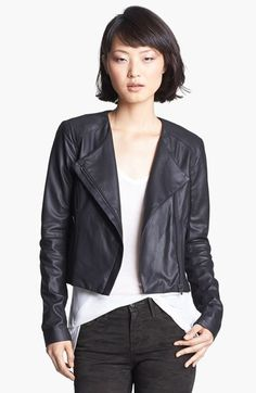 Veda 'Dali' Leather Jacket available at #Nordstrom