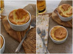 girlichef: Irish Cheese Soufflés {#SundaySupper}