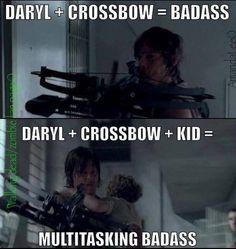 Ohhh my god, Daryl. Love me!