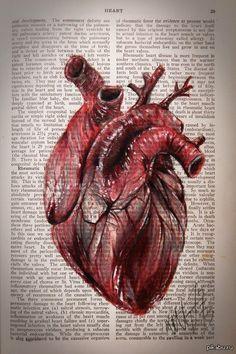 Рисунок не мой,это поразительно) ручка, сердце, анатомия