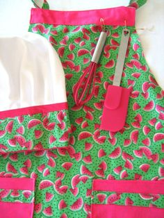 Watermelon Dish Towels | Pink watermelons instead of red: my ideal