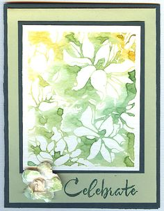 Andi Sexton, Flickr - Photo Sharing!:  Hero Arts Large Flower and Find Joy; watercolor with Distress Inks