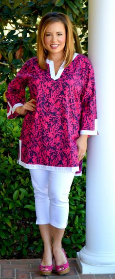 Perfectly Priscilla Boutique - Just A Feeling Tunic, $50.00 (http://www.perfectlypriscilla.com/just-a-feeling-tunic/)