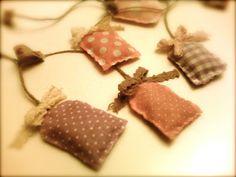Tutorial: bustine tè profumate - fabric scented sachet of tea