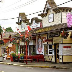 Downtown Chemainus, British Columbia