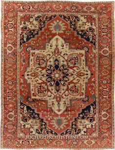 Rare Serapi Oriental Rug