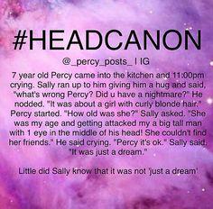 Percy Jackson's Headcanon