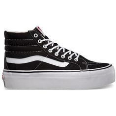 fad123bcdacada Vans Sk8-Hi Platform ( 65) ❤ liked on Polyvore featuring shoes