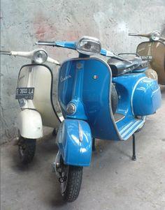 His & Hers - 1969 Vespa 150cc Sprint V