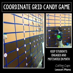 Coffee Cups and Lesson Plans: Graphing on the Coordinate Grid-- Interactive Candy Style {Mid-Week Math Motivation}