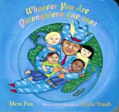 Whoever you are mem fox writing activities