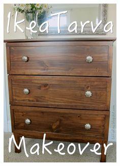 Effie Row: Ikea Tarva Makeover