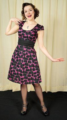 Hocus Pocus Black Cat Dress