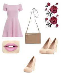 """Untitled #1"" by korzuninaeva ❤ liked on Polyvore featuring AX Paris, Charles by Charles David and Fiebiger"