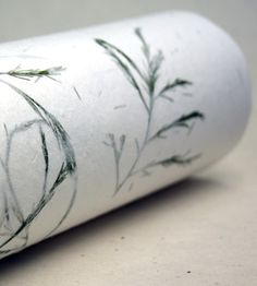 Handmade Holiday Seed Wrapping Paper with Green Ferns - 3 Sheets by Of the Earth on Scoutmob Shoppe #wrappingpaper #ferns #wildflower #forsale #scoutmob #oftheearth
