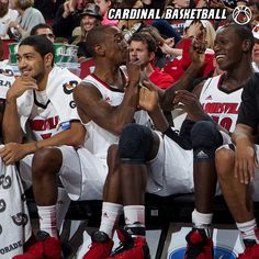 Wordy Wednesday: The University of Louisville Men's Basketball team will be competing in the Battle 4 Atlantis November 22-24. Provide a caption for the photo below and remember to cheer on the team during the holiday weekend!