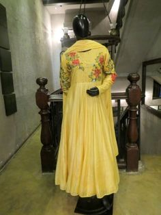 Embroidered Anarkali Kurta Set is now available to be ordered at http://www.ekru.in/product/embroidered-anarkali-kurta-set