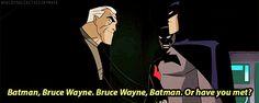 my gifs batman bruce wayne terry mcginnis batman beyond justice league unlimited wouldyouliketoseemymask Batman Comic Art, Im Batman, Batman Comics, Dc Comics, Gotham Batman, Batman Robin, Tim Drake, Justice League Animated, Robin Dc